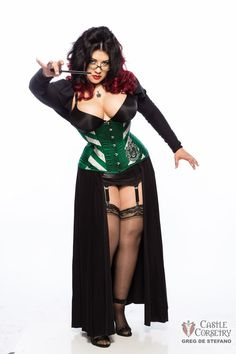 Hey, I found this really awesome Etsy listing at https://www.etsy.com/listing/96003488/hogwarts-slytherin-long-line-corset