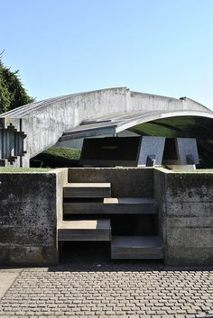 Steps - Brion Vega Cemetery -  Carlo Scarpa