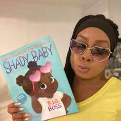 Shady Baby keeps it real in this picture book collaboration by New York Times bestselling duo actress and producer Gabrielle Union and NBA superstar and businessman Dwyane Wade. Based on their famous baby girl, Kaavia James. This upbeat picture book teaches kids to speak their minds and stand up for what they believe in. Perfect for fans of The Boss Baby and Feminist Baby! 📸 @deonnaoffduty Kid Picks, Dwyane Wade, Gabrielle Union, Boss Baby, Black Books, Baby Head, Keep It Real, Teaching Kids, Black History