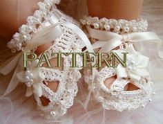 ORIGINAL DESIGNER Baby Christening Shoes with by SuziesTalents