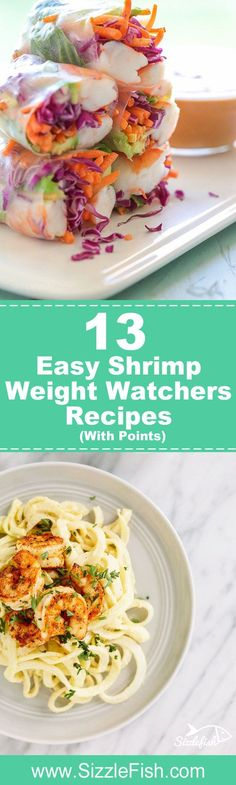 Weighing in at only 120 calories, 27g of protein and next to zero carbs and fat, per 4-ounce serving, gulf shrimp help make it easier and tastier to stay on track.  And even if you aren't dieting, These 13 Easy Shrimp Recipes With Weight Watchers Points are so delicious everyone should try them. They prove that health