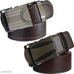 Checkout this latest Belts Product Name: *Trendy Men's Combo Black Synthetic Belt* Material: Synthetic Pattern: Solid Multipack: 2 Sizes:  28 (Waist Size: 28 in)  30 (Waist Size: 30 in)  32 (Waist Size: 32 in)  34 (Waist Size: 34 in)  36 (Waist Size: 36 in)  38 (Waist Size: 38 in)  40 (Waist Size: 40 in)  42 (Waist Size: 42 in)  44 (Waist Size: 44 in)  Country of Origin: India Easy Returns Available In Case Of Any Issue   Catalog Rating: ★3.9 (383)  Catalog Name: Elite Modern Men's Belts Combo CatalogID_839013 C65-SC1222 Code: 842-5605657-645