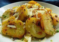Katalánské brambory - TopRecepty.cz No Salt Recipes, Meat Recipes, Cooking Recipes, Czech Recipes, Ethnic Recipes, Good Food, Yummy Food, Bon Appetit, Potato Salad