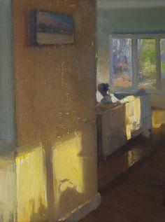 ◇ Artful Interiors ◇ paintings of beautiful rooms - Duane Keiser