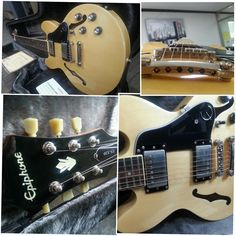 Epiphone ES-339 PRO - 6.8jt Epiphone, Guitars, Music Instruments, Wood, Stuff To Buy, Woodwind Instrument, Musical Instruments, Timber Wood, Wood Planks