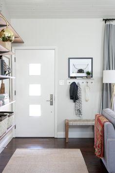 Cómo crear un recibidor en un espacio abierto al salón : via La Garbatella