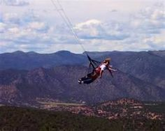 Skycoaster Royal Gorge bridge, CO.yep did this lol Us Vacation Spots, Royal Gorge, Amusement Parks, Family Vacations, Places To See, Bridge, Wanderlust, Bucket, Lol