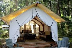 Glamping – If You Like the Idea of Camping, But Don't Want to Get Dirty or Anything (24 Photos) – Suburban Men