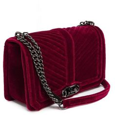 Soft Berry Quilted Love Crossbody Bag-Soft Berry Quilted Love Crossbody Bag and other apparel, accessories and trends. Browse and shop related looks.