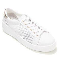 "Steven Natural Comfort ""Napa"" Leather Sneaker - 8286616   HSN"