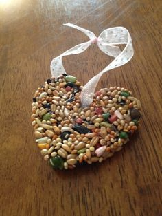 Birdseed Wedding Favors that people can hang off their trees.  The birds will love you for it!