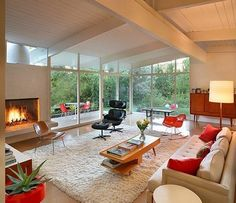 Mid-Century Modern Interior Decorating Inspiration. See something you like? Visit our fully stocked online store now. https://www.sunbeamvintage.com/