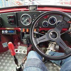 今日は営業車で出動 #jpmini #classicminijapan #classicmini #classicminis #classicminisjapan #mini... Fiat 600, Mini Cooper Classic, Classic Mini, Car Interior Design, Garage, First Car, Retro Cars, Saku, Ford