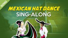 Mexican Hat Dance | Nursery Rhymes | Children Songs  [Sing-Along with Ly...