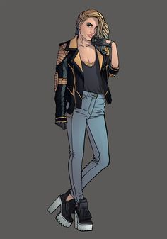Black canary Fashion cosplayDon't forget that you can help me produce a 120 pages artbook with all those fashion cosplay superheroines by going on my kickstarter page.https://www.kickstarter.com/projects/1741342043/kicking-ass-and-wearing-heels-the-fashion-art-of-c