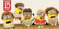 one direction minions |