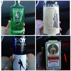 star wars liquor