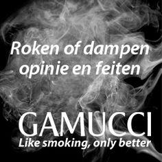 Roken of dampen, opinie en feiten