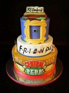 F.R.I.E.N.D.S. cake