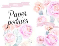 ..Twigg studios: crepe paper peonies tutorial