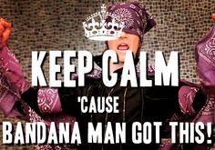 Bandana Man to save the day! BTR <3