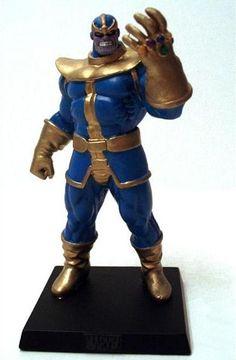 Eaglemoss Marvel Comics Thanos Lead Figurine