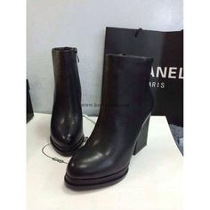 Chanel 2015 new style leather Boots CB050(2 colors)