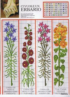 ru / Photo # 51 - bookmarks and what can be them - irisha-ira Cross Stitch Bookmarks, Counted Cross Stitch Patterns, Cross Stitch Charts, Cross Stitch Designs, Cross Stitch Embroidery, Embroidery Patterns, Cross Stitch Pictures, Peyote Patterns, Cross Stitch Flowers