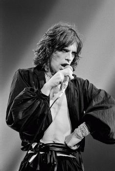 Mick Jagger by Lynn Goldsmith I love his picture he has got a little Jim Morrison going there.