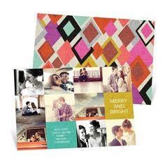 Patchwork holiday cards
