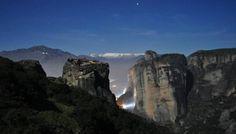 ΜΕΤΕΩΡΑ Half Dome, Greece, Mountains, Water, Travel, Outdoor, Greece Country, Gripe Water, Outdoors