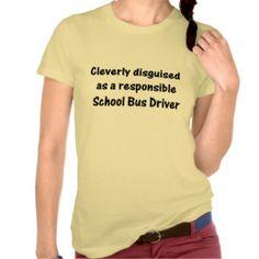 bus driver shirt | School Bus Driver T-shirts & Shirts