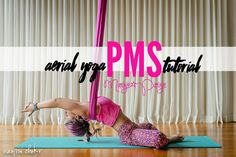 Aerial Yoga for PMS