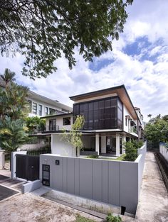 Completed in 2016 in Singapore, Singapore. Images by Edward Hendricks. The existing semi-detached house was a 30 year old house that had stood the test of time. Our clients approached us for a reconstruction of the...