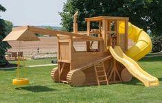 бульдозер детская площадка