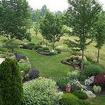 Neighbor's view of garden by greenthumblonde