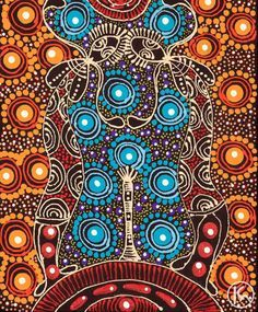 Dreamtime Sisters by Colleen Wallace Nungari from Utopia, Central Australia created a 30 x 30 cm Acrylic on Canvas painting SOLD at the Aboriginal Art Store Aboriginal Art Australian, Indigenous Australian Art, Aboriginal Dot Painting, Indigenous Art, Aboriginal Dreamtime, Art Premier, Cult, Art Graphique, Native Art