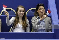 News Photo : Princess Caroline of Hanover and her daughter...