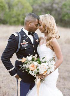 Glamorous Military Wedding in Texas – Angela Lally Photography 47