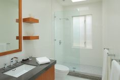 Doorless Shower Design Ideas, Pictures, Remodel, and Decor - page 4