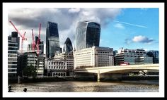 The City and the Thames