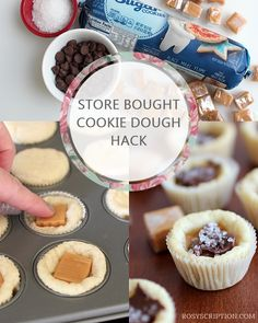 A store bought cookie dough hack. So easy and simple! A store bought cookie dough hack. So easy and simple! Betty Crocker Sugar Cookies, Easy Sugar Cookies, Sugar Cookies Recipe, How To Make Cookies, Yummy Cookies, Sugar Cookie Cups, Making Cookies, Pillsbury Sugar Cookie Dough, Refrigerated Cookie Dough