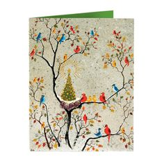 The Met Store -  Dehn: Avian Holiday Cards / Greeting: Merry Christmas and a Happy New Year.