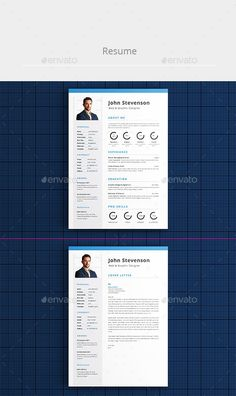 Professional Resume Template   Resumes Stationery Download