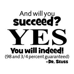 Will You Succeed? Wall Quotes™ Decal | WallQuotes.com (t)