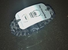 Geocaching Paracord Bracelet with Travel Bug by BlackdogParacord, $20.00