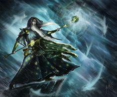 Typhoon Wizard by JSfantasy.deviantart.com on @DeviantArt