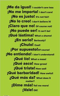 Here are 15 Spanish Learning Hacks I used to become Fluent Fast! Learn how to speak everyday, conversational Spanish now. Here are 15 Spanish Learning Hacks I used to become Fluent Fast! Learn how to speak everyday, conversational Spanish now. Spanish Grammar, English Vocabulary Words, Spanish English, English Phrases, Spanish Language Learning, Teaching Spanish, Spanish Activities, Teaching French, Common Phrases In Spanish