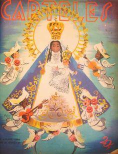 Revista Carteles / Homenaje a la Virgen de la Caridad, advocación popular cubana de la Virgen María y patrona de la isla de Cuba