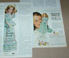 1971 print ad - Bonnie Breck doll cute little girl vintage advertising clipping | eBay